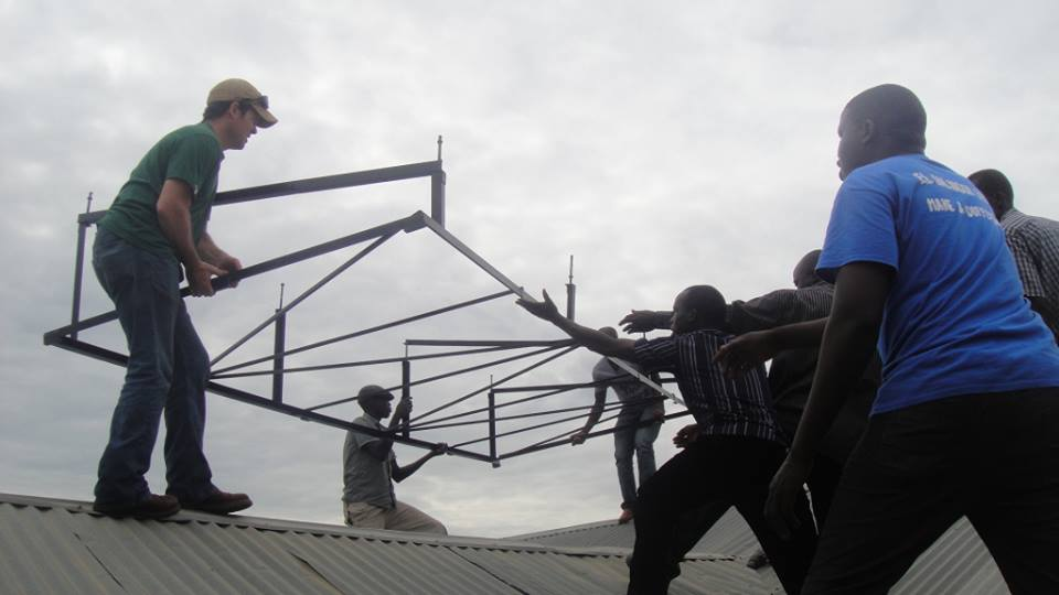 Lyman-Morse Technologies installing microgrid in Africa